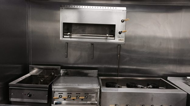 Commercial Gas Kitchen