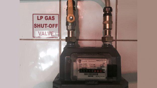 Gas Meter installed