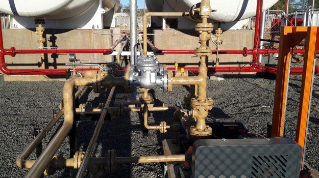 Tank installation 9